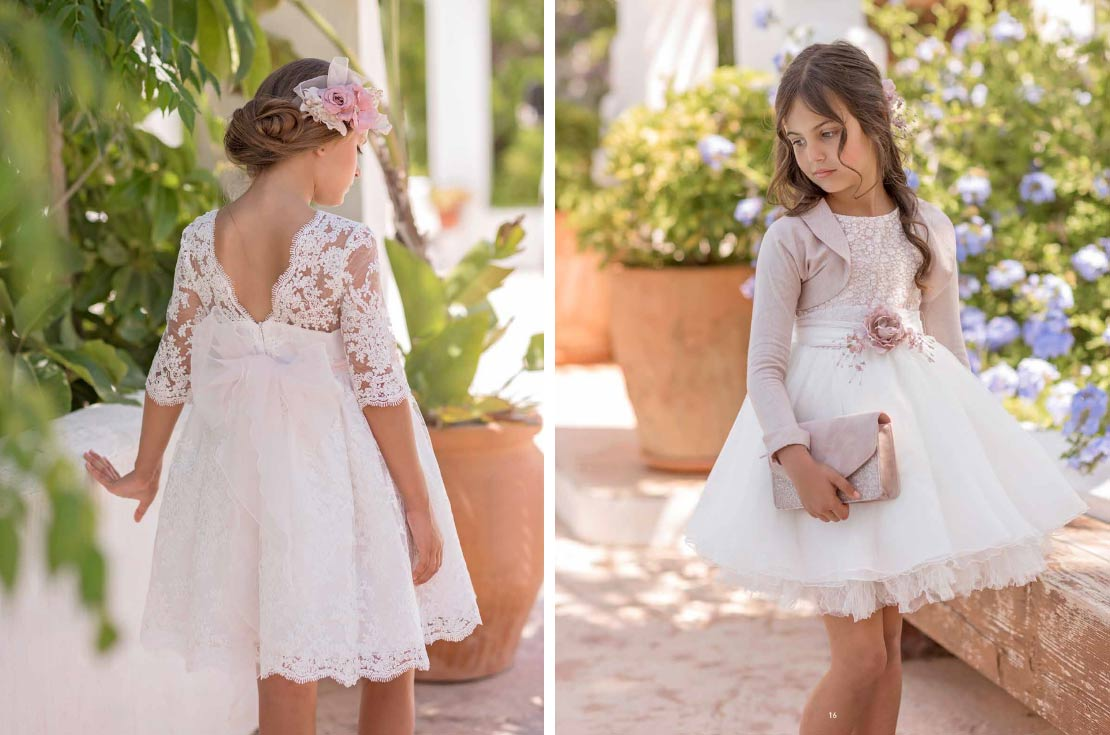 Mimilù Girls ceremony collection 2020 - annameglio shop online
