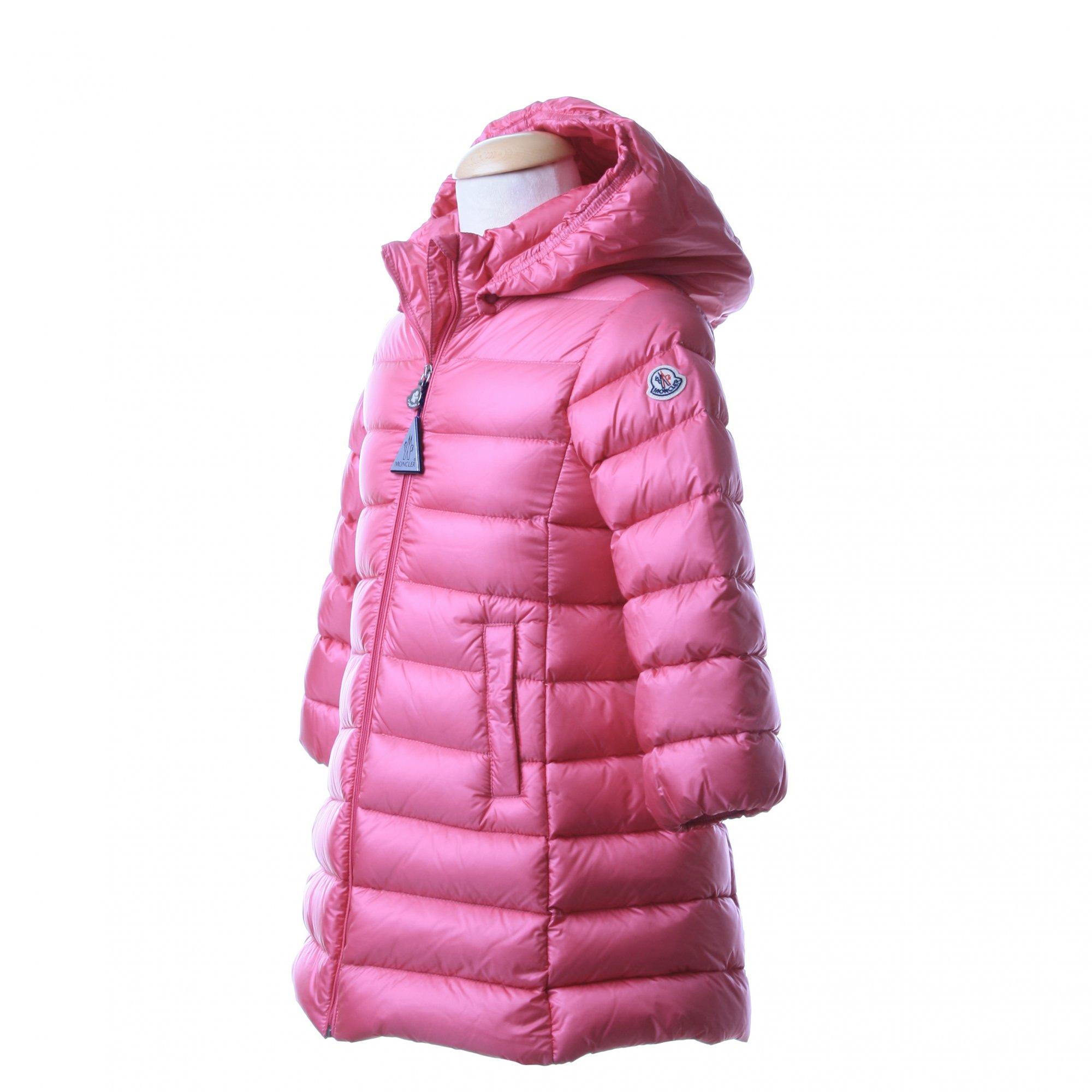 moncler rosa bambina