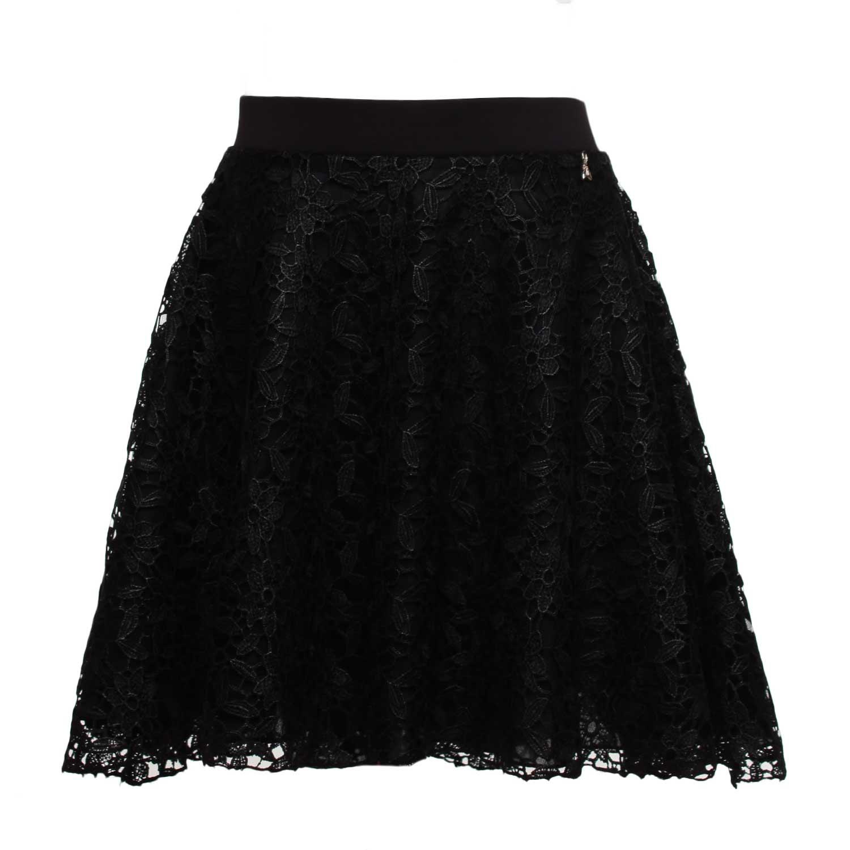 Home · PATRIZIA PEPE · Gonne Shorts Leggings; Gonna Girl In Pizzo Nera.  10909-patrizia_pepe_gonna_girl_in_pizzo_nera-1.jpg