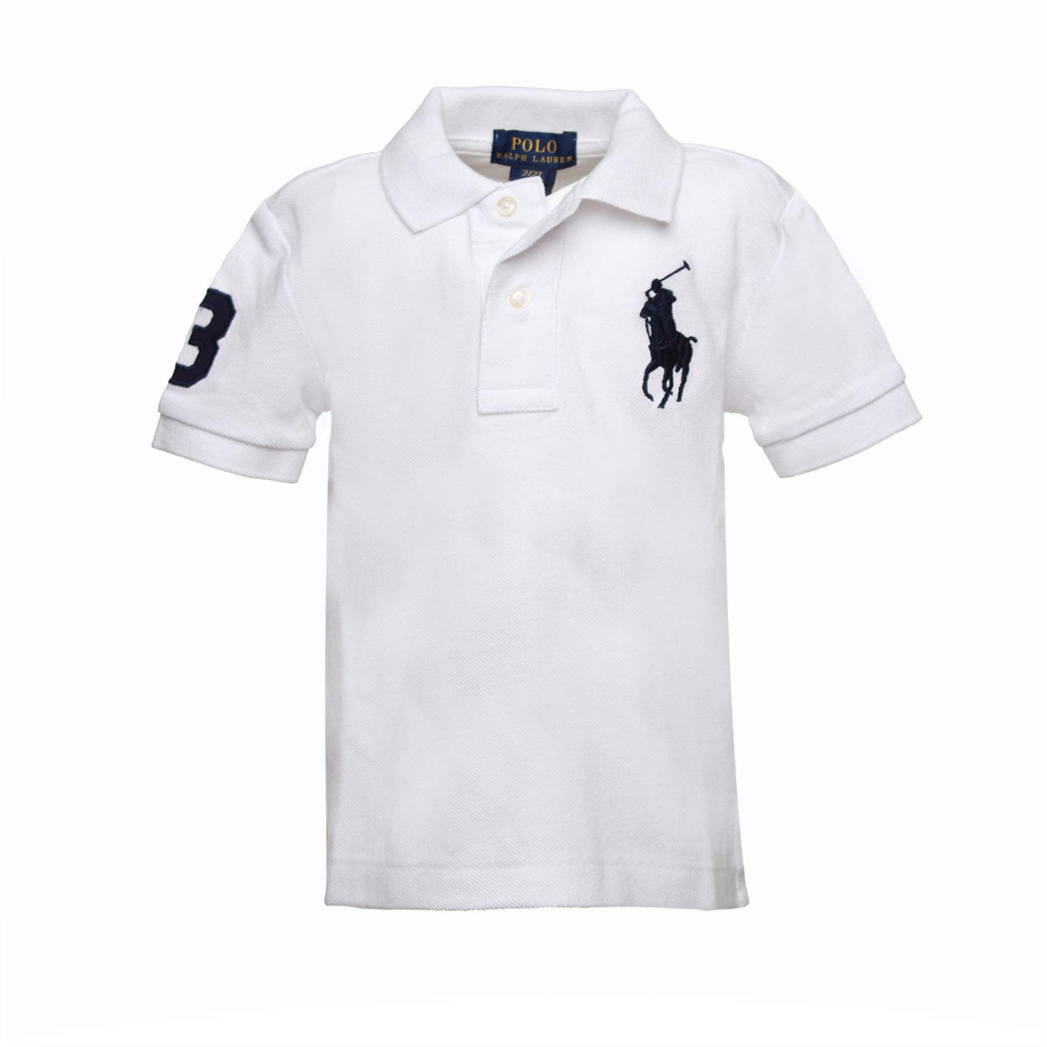newest collection 0f1d6 5e86f Big Pony Baby Polo Off White