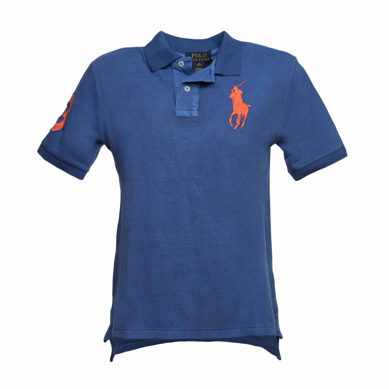 Kids Big Polo Light Blue Pony QBthsrCxd