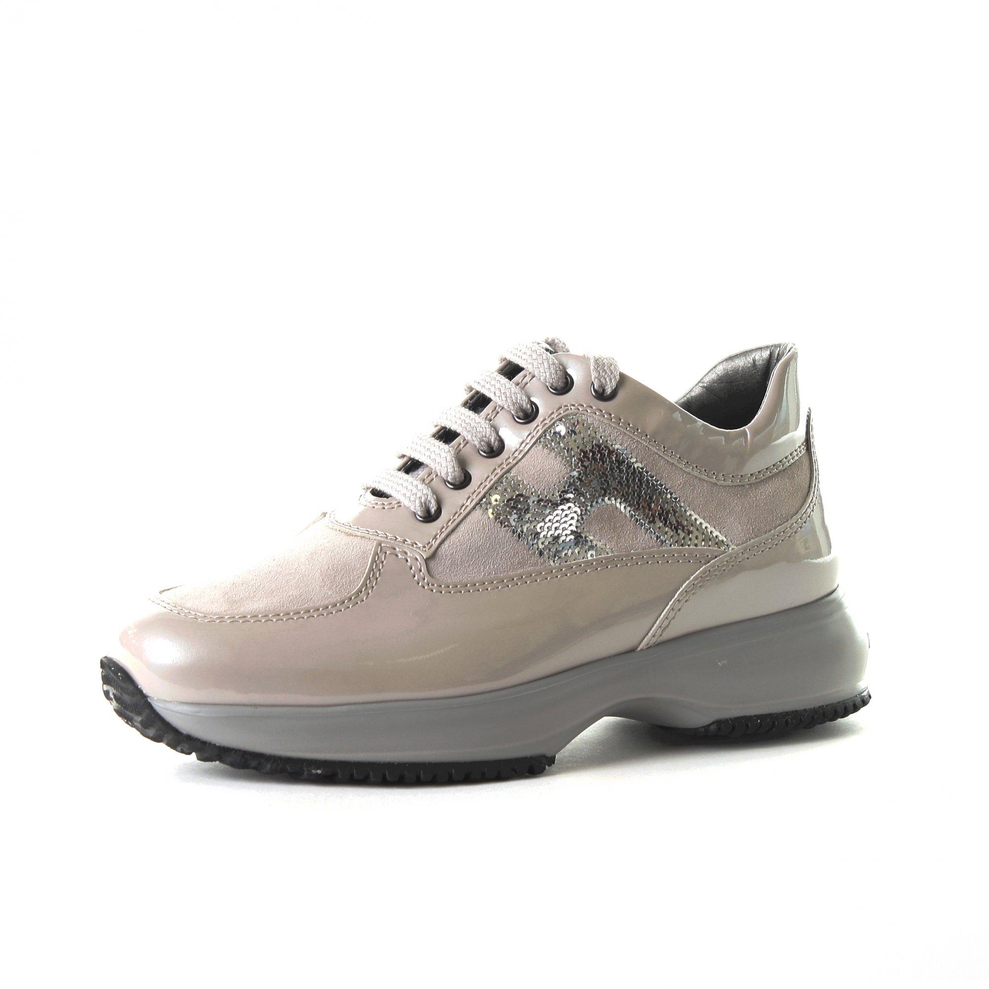 Baskets Pour Femme Hogan Interactive H Paillettes Chaussure