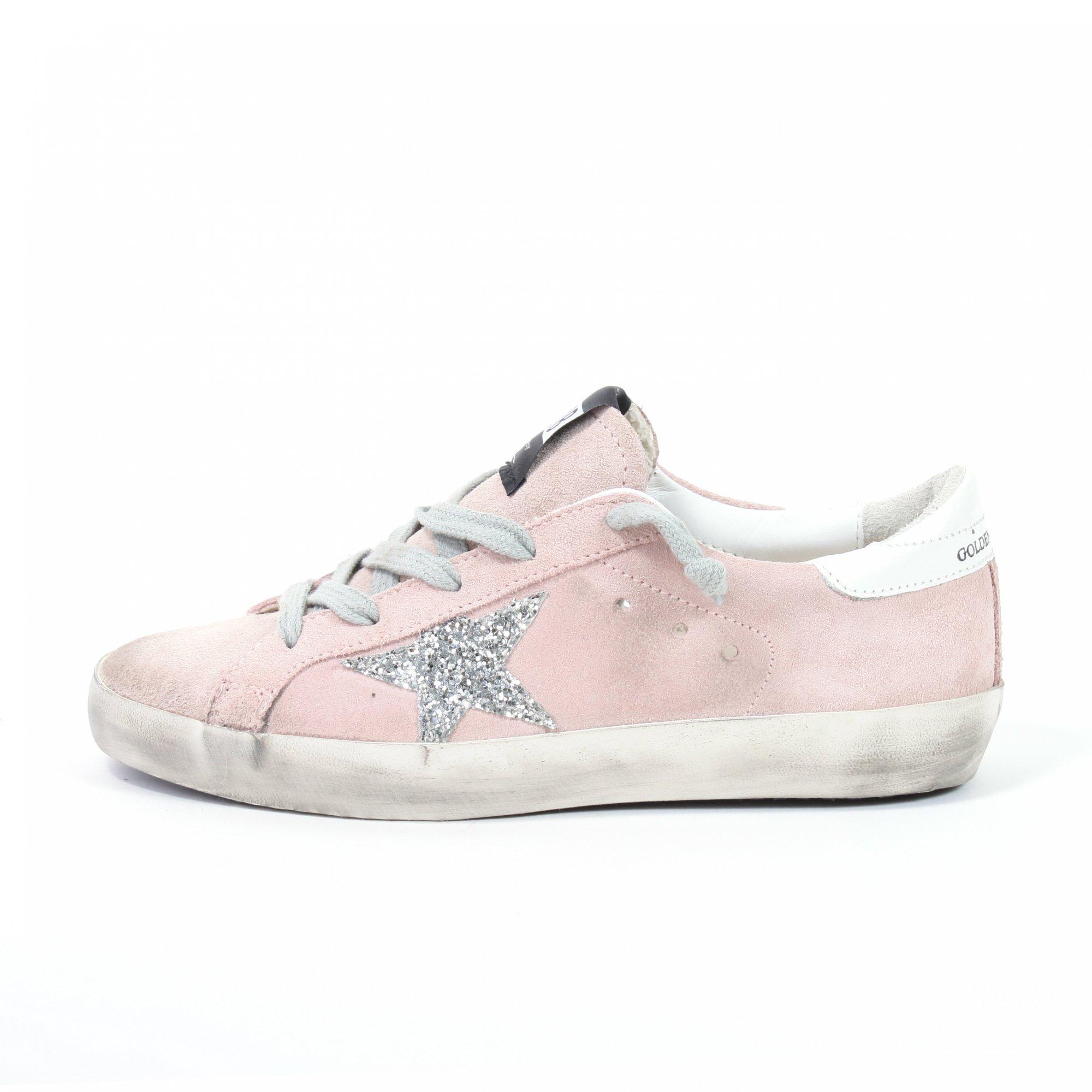 Sneakers con stella glitterate DaWe2wq