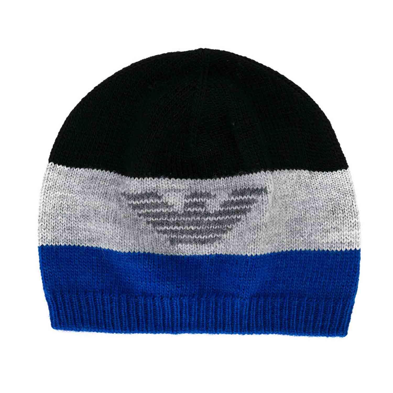 molto carino dopo prezzi al dettaglio Cappello Nero Grigio Blu