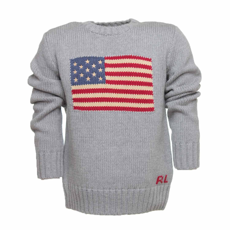 Online Pullover Grigio Usa Ralph Shop Boy Lauren 3ARS5qcL4j