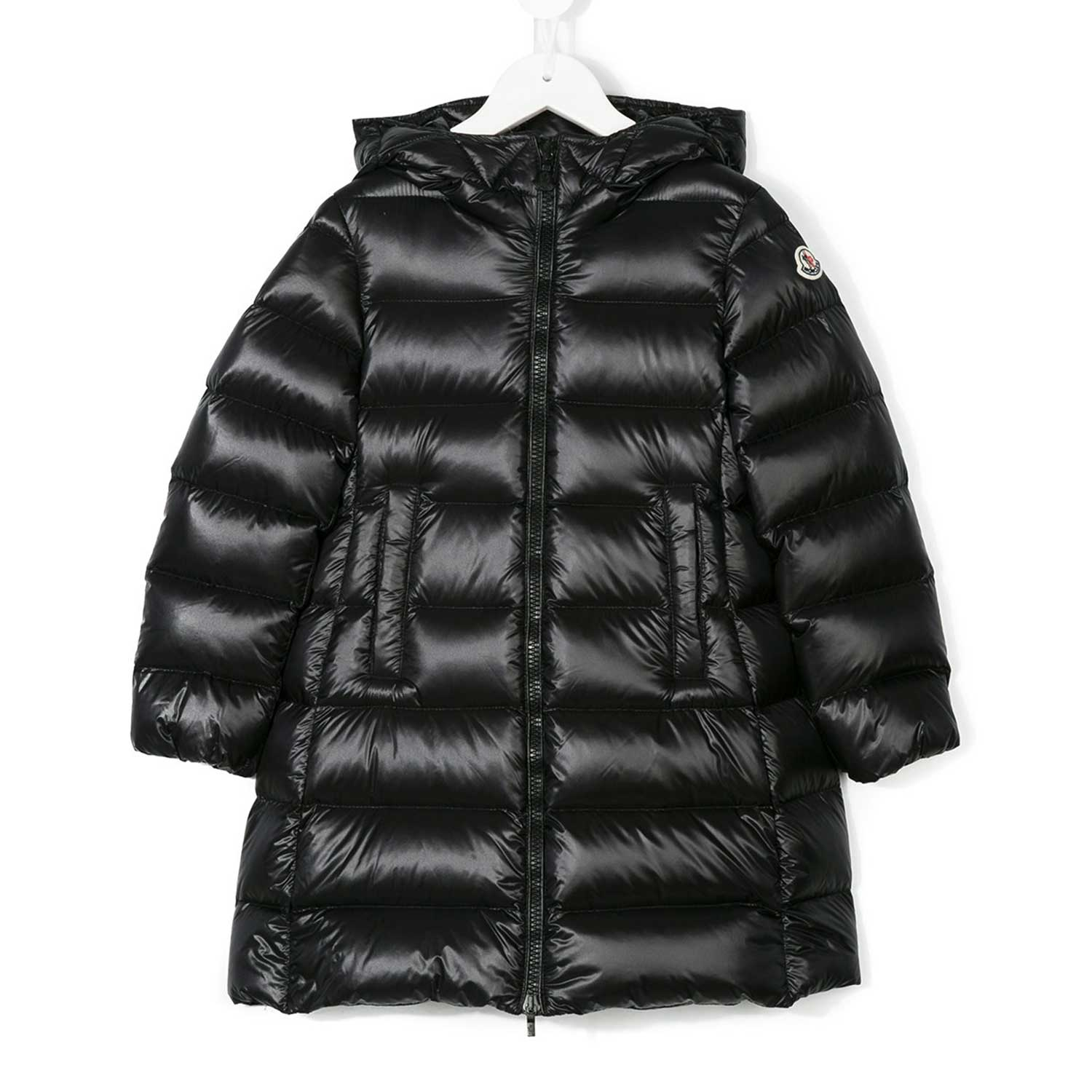 Moncler piumino nero bambina teen shop for Piumino letto bambina