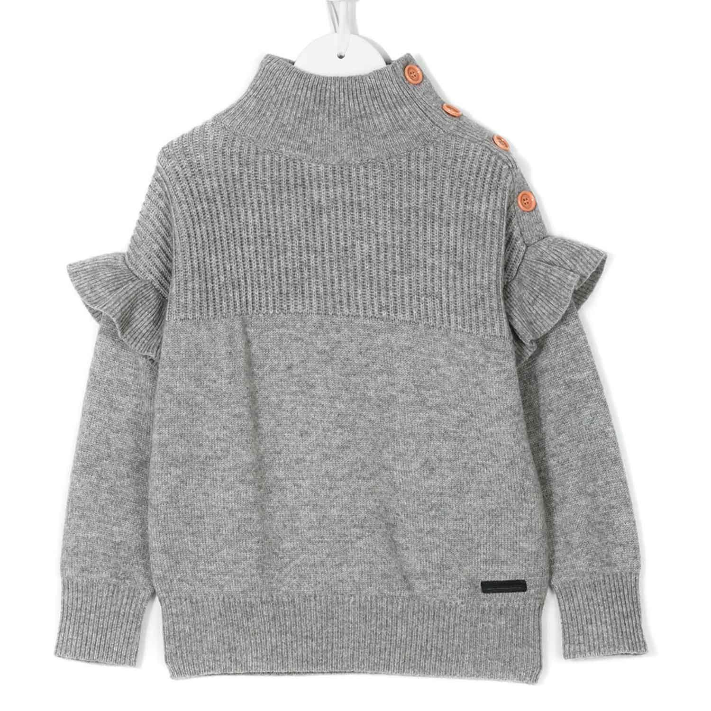 Pullover Shop Online Bambina Teen Burberry Grigio J5uFc31TlK