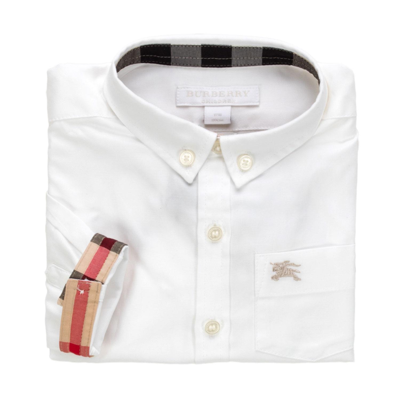 0729107a81d6 Bianca Shop Online Camicia Bambino Oxford Burberry lFJ1KT3uc