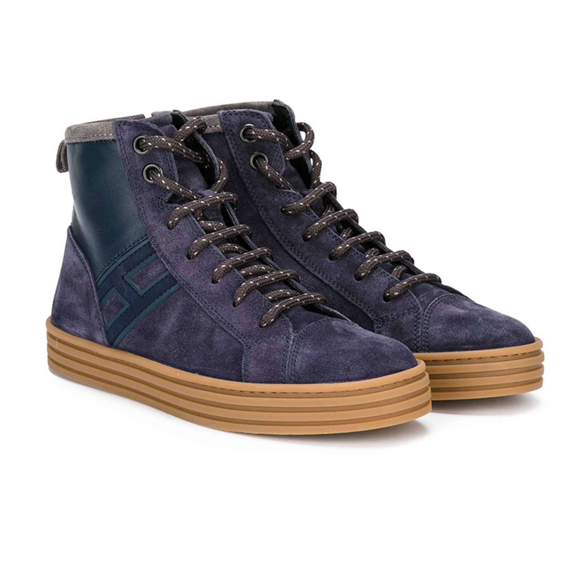 Sneaker R141 Blu Bambino Teen