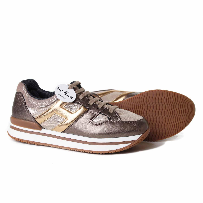 Sneaker H222 Jr Bronzo