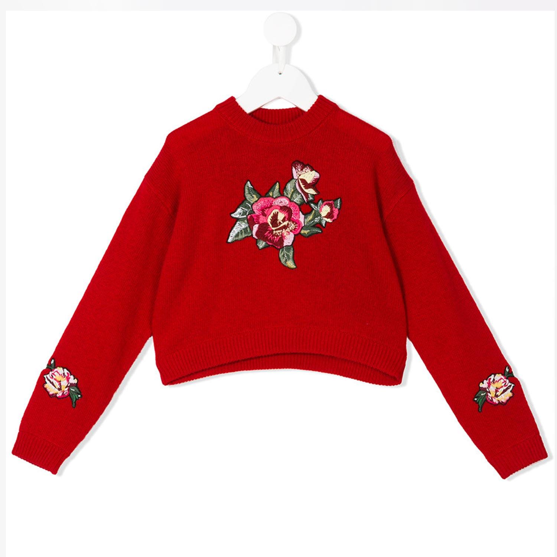 comprare popolare 0d1c3 03d0d Maglioncino Rosso Bambina