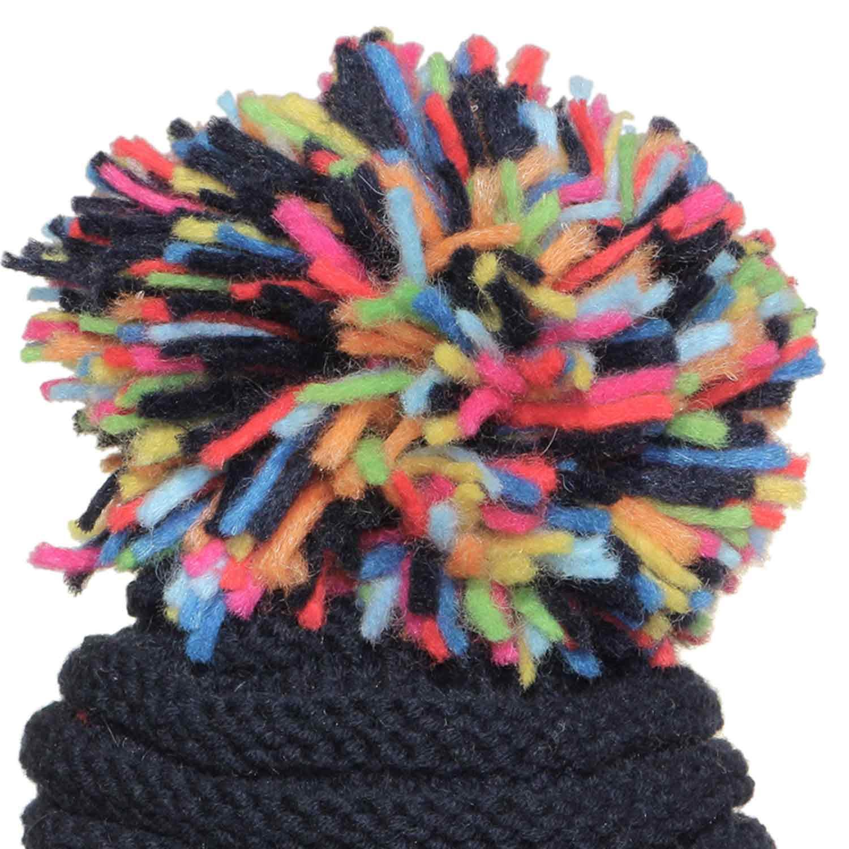 Grevi - Cappello Girl Blu Maxi Pon Pon - annameglio.com shop online 012deefdd456