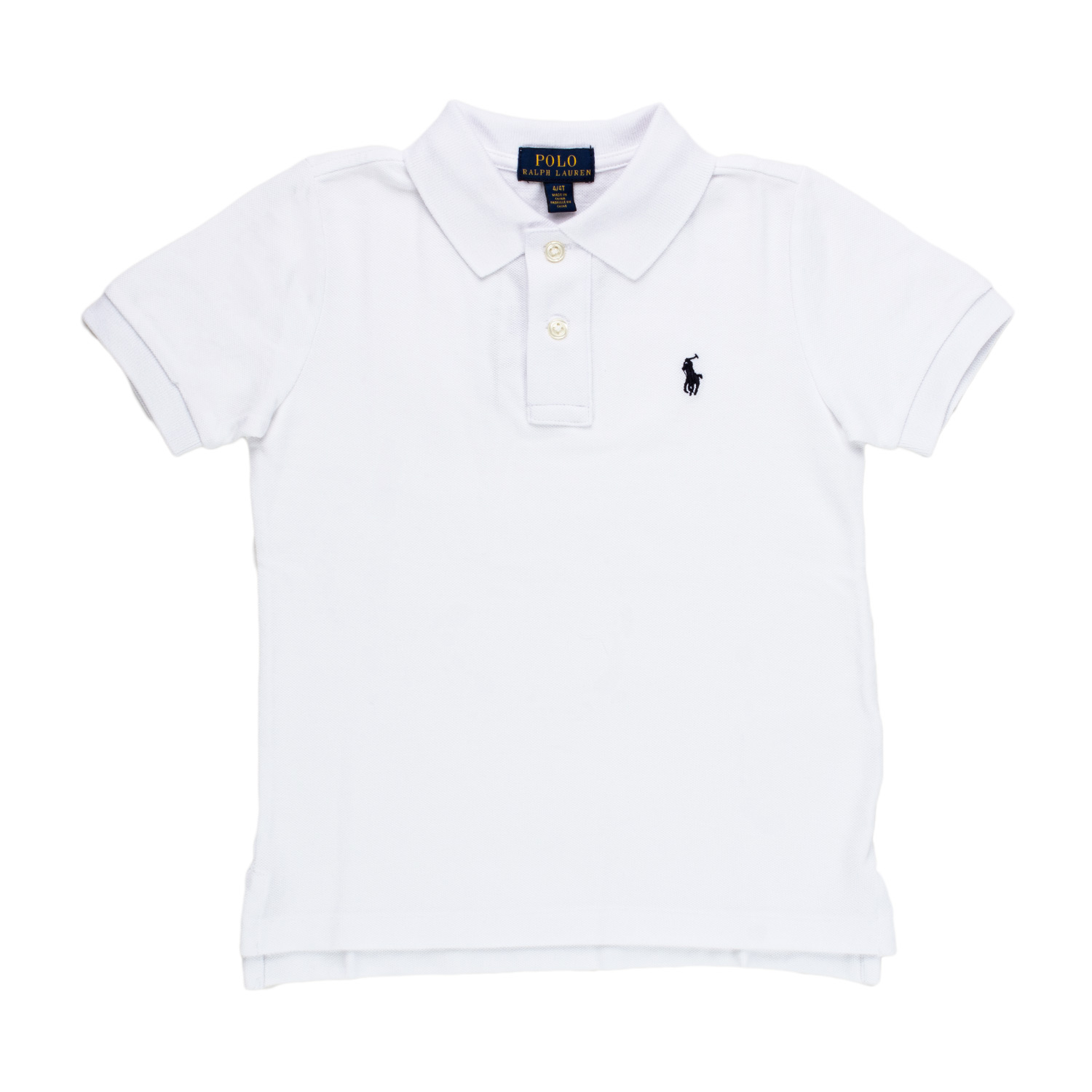 eaf8890f9 Home · RALPH LAUREN · T-shirts Polo neck Shirts; Slim Fit Cotton Mesh Polo  Kids White. 24027-ralph_lauren_polo_rl_kids_bianca-1.jpg