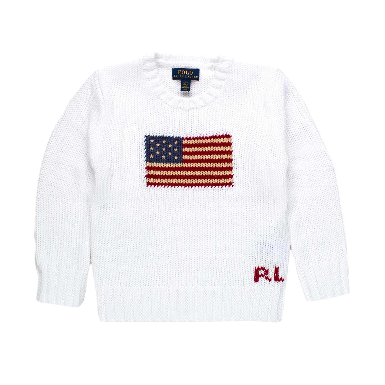 Kids Ralph Pullover Lauren Shop Bianco Online Usa Rl HxIOxq7