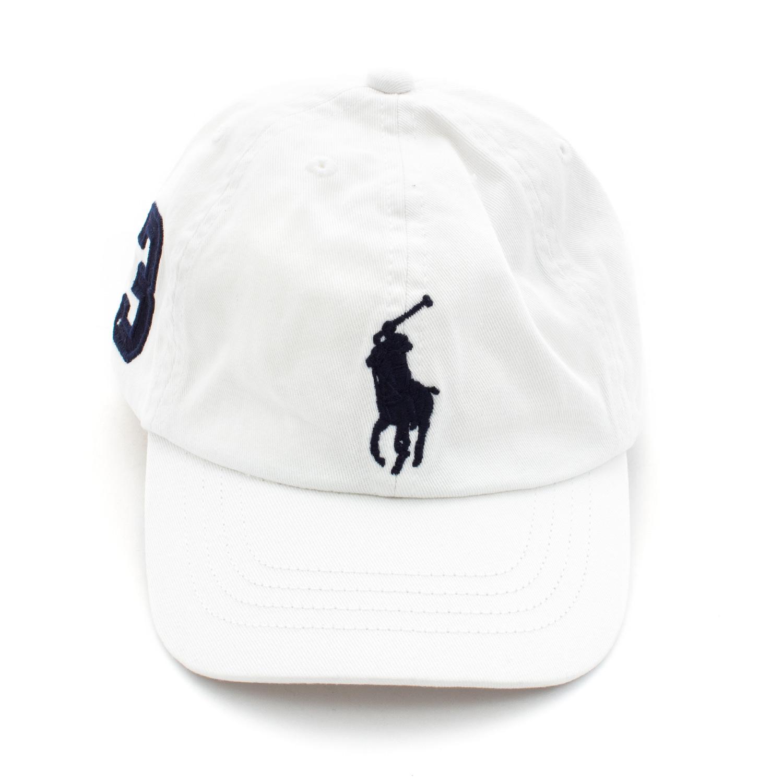 Ralph Lauren - Berretto Bianco Bambino Teen - annameglio.com shop online 6e4f7fb12acb