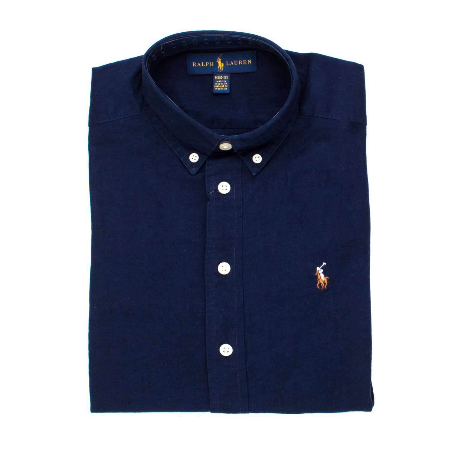 newest collection 9055d bd54a Camicia Lino Blu Rl Boy