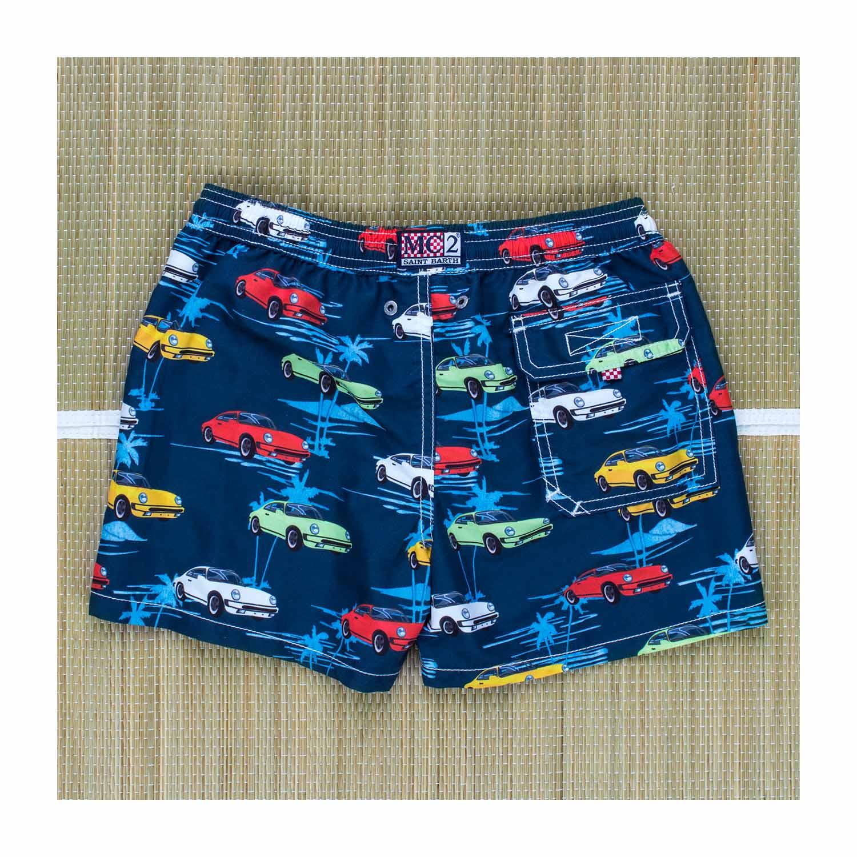 ce0a9c5ab26c Mc2 Saint Barth - Boxer Mare Jean Cars Blu Bambino Teen - annameglio ...