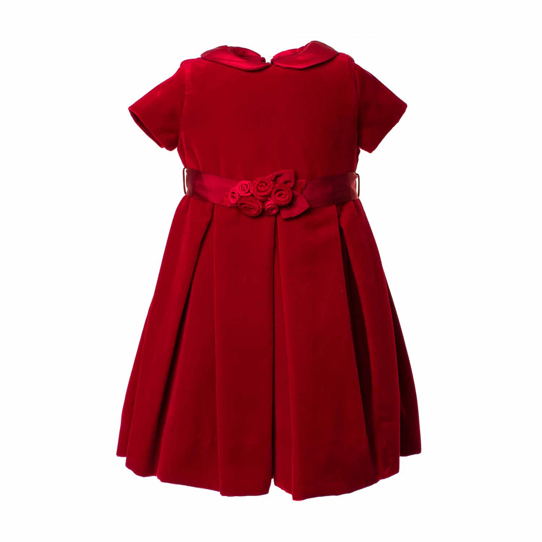 monnalisa – abito party velluto rosso – annameglio shop online. Download  Image 1500 X 1500 694d43b9d99