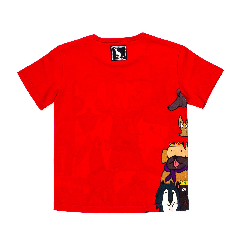 Dolce Gabbana T Shirt Cartoon Rossa Bambino Annamegliocom