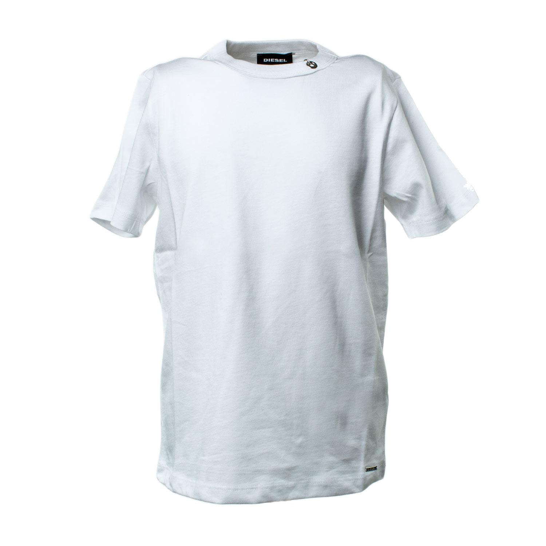 Diesel T Shirt Bianca Unisex Shop Online