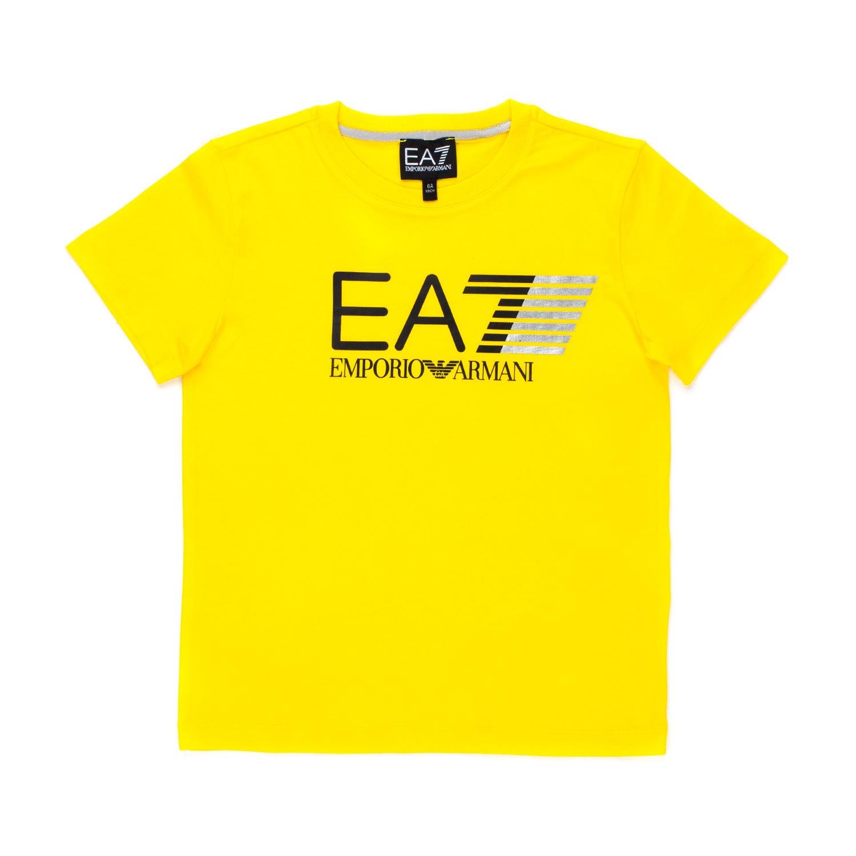 8c1548a495 T-Shirt Gialla Ea7 Bambino Teen