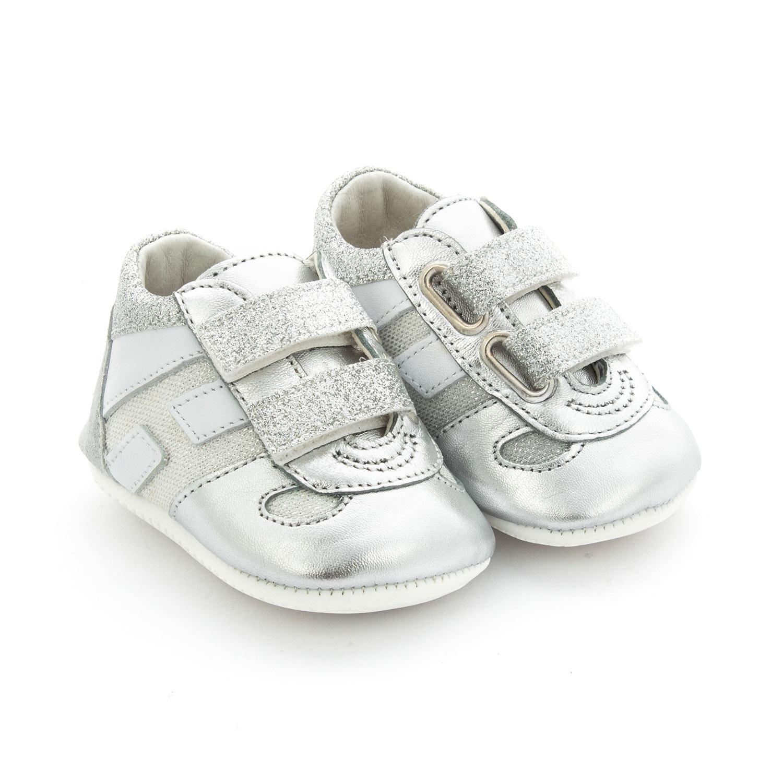 Scarpina Olympia Silver Bebè