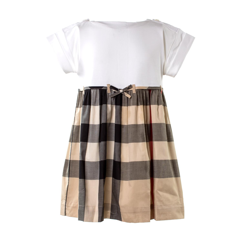 designer fashion b09f2 5f2f9 Abito Bambina Classic Check