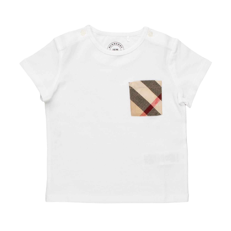 pretty nice f4729 d873f T-Shirt Bianca Bimbo Bebé 02