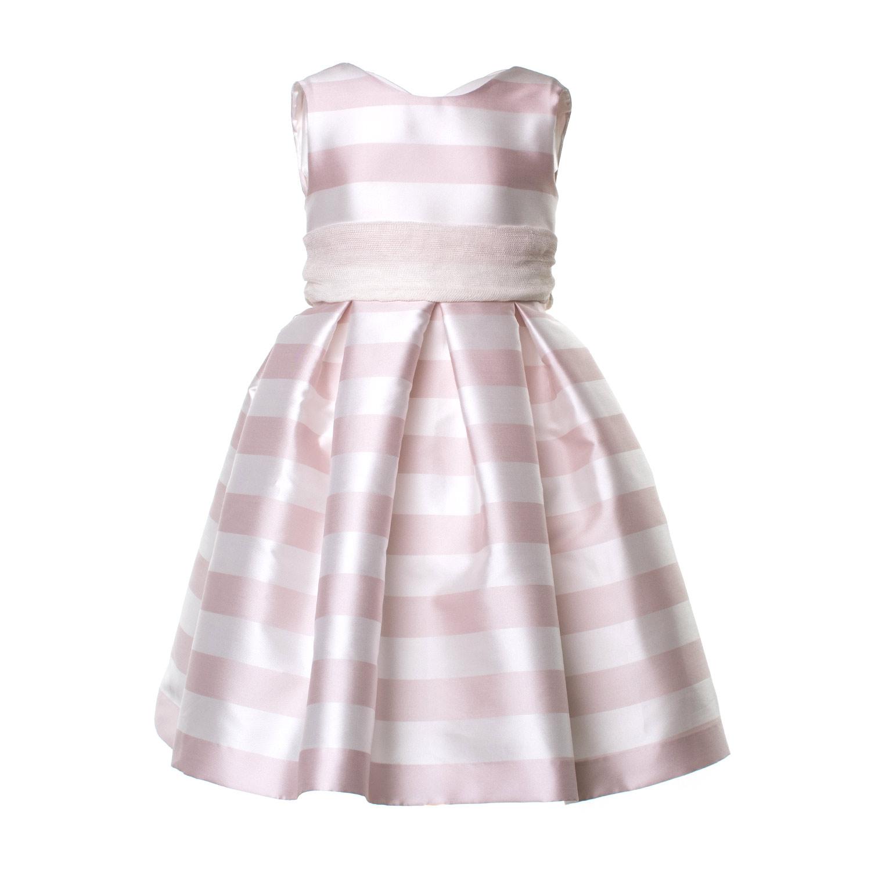 2210d15be425 La Stupenderia - Abito Bambina Bianco E Rosa - annameglio.com shop ...