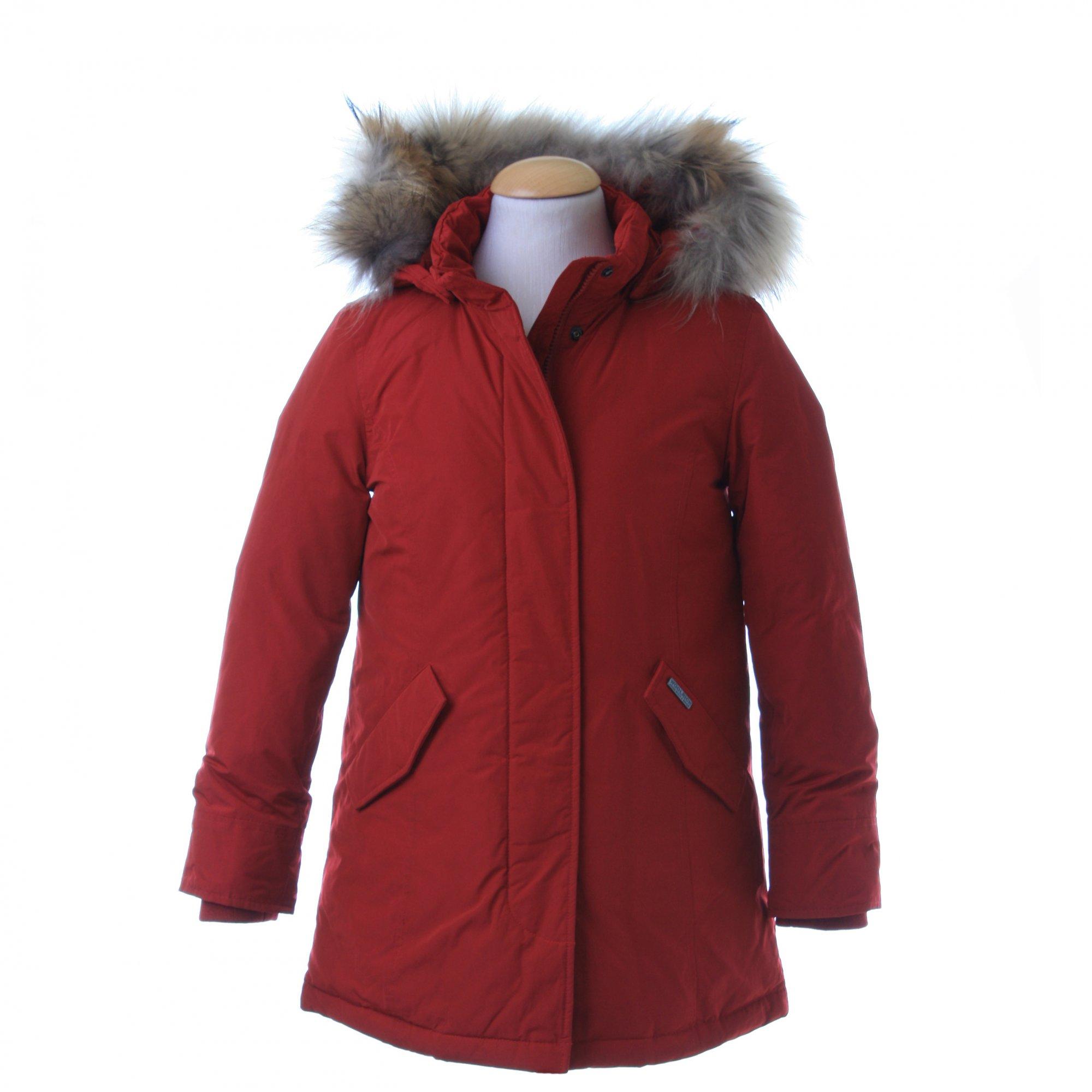 woolrich luxury arctic parka rosso shop online. Black Bedroom Furniture Sets. Home Design Ideas