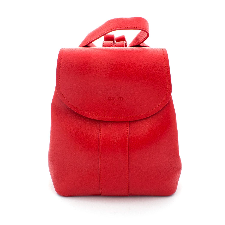 huge selection of 02696 6cb14 Zaino Girl Ecopelle Rosso