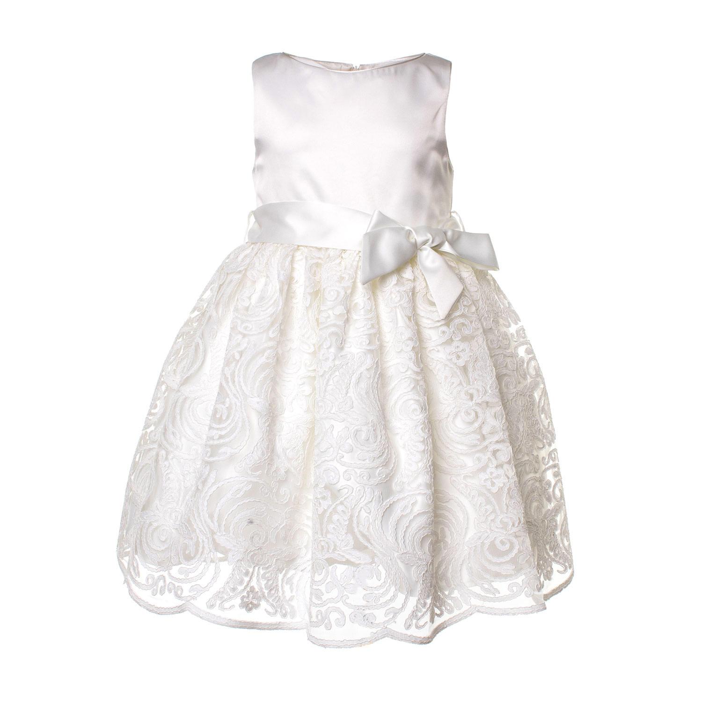 8d7ef092b0c6 Aisha - Abito Cerimonia Bianco Bambina - annameglio.com shop online