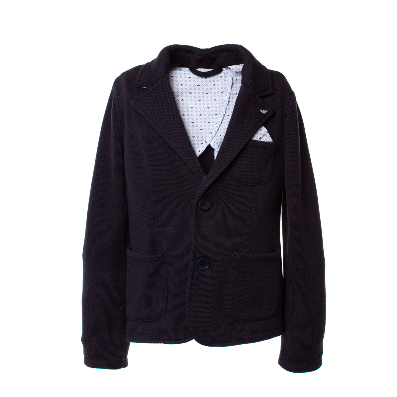buy popular 25051 ae8b2 Armani Junior - Blue Bòazer Boy Teen Boys - annameglio.com shop online