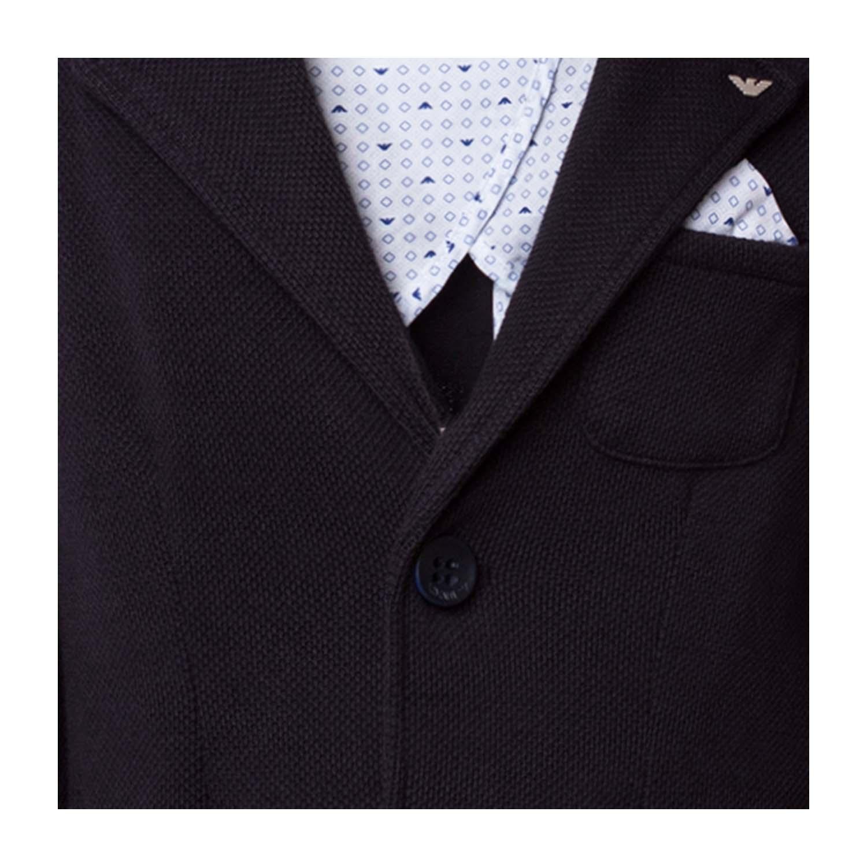 quality design e041e 6c598 25429-armani junior giacca blu scuro bambino teen -4.jpg