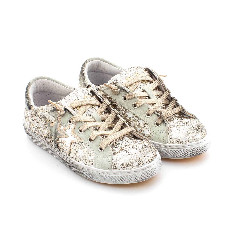 buy online 6c857 b18ee Sneaker Low Oro Bambina Teen
