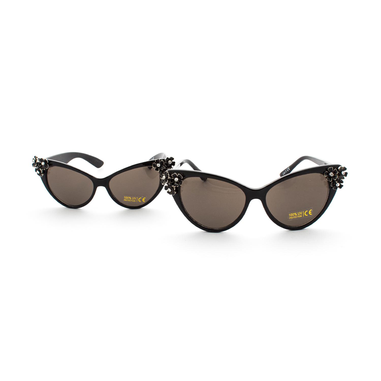 Monnalisa set occhiali da sole neri mamma e figlia for Occhiali neri da sole