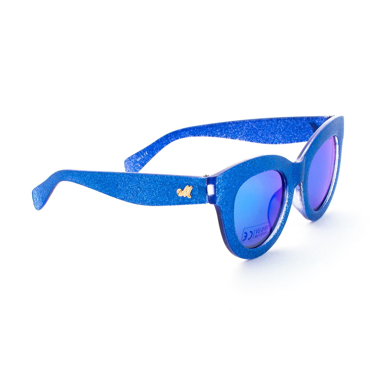 presentando più economico grande selezione del 2019 Occhiali Da Sole Bambina Blu Glitter