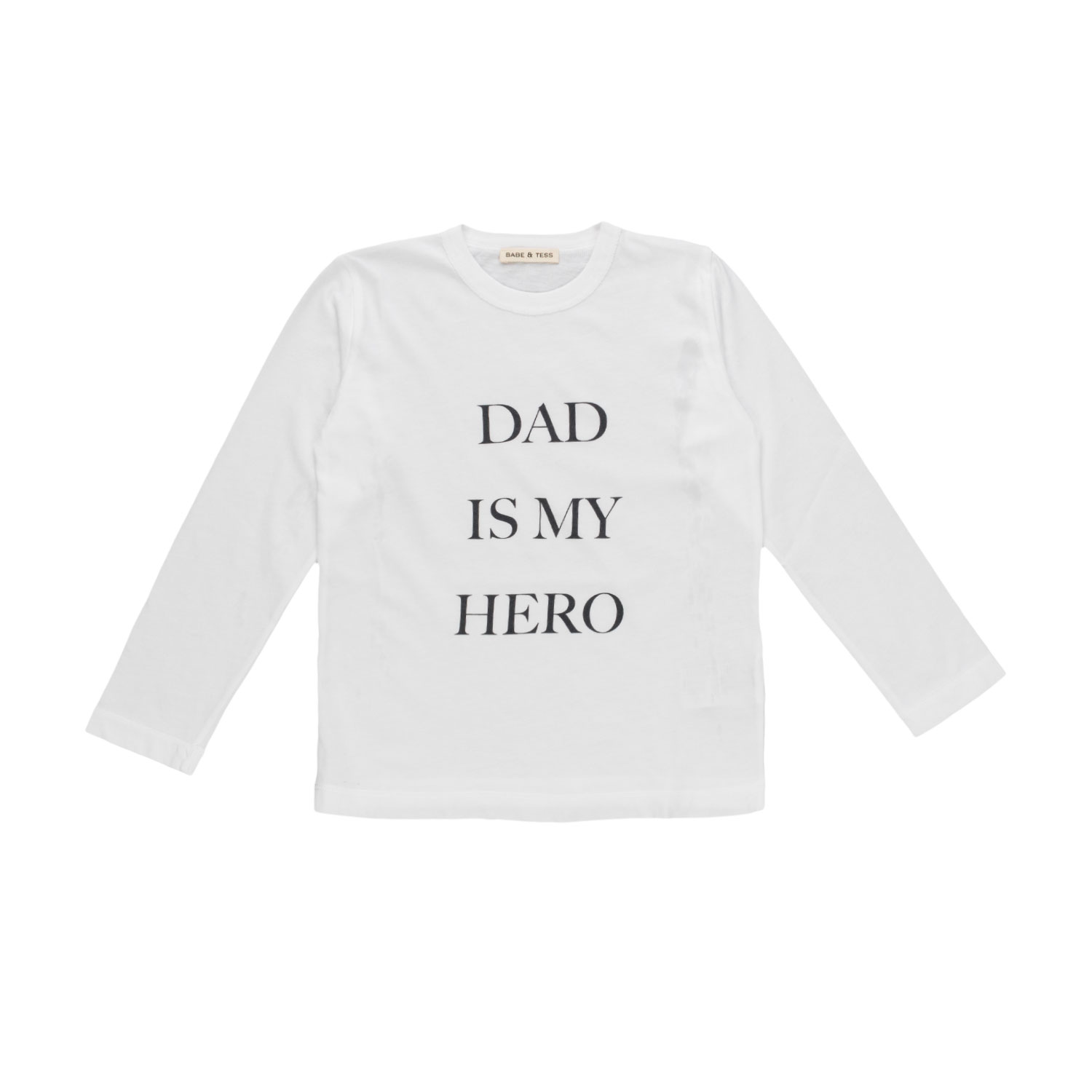 621a267f Babe & Tess - Girl Dad Is My Hero T-Shirt - annameglio.com shop online