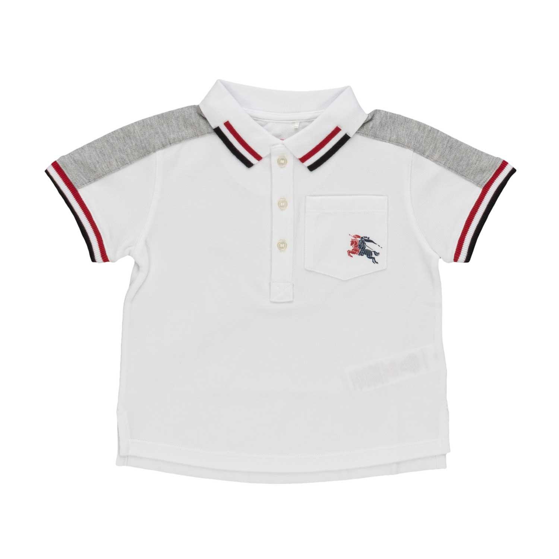 1c5e54583ab4d Burberry - Baby Boy Cotton Polo Shirt - annameglio.com shop online