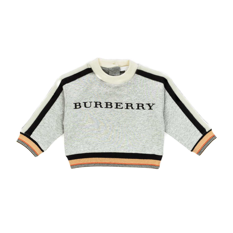 76b9f1525602 ... Boy Logo Cotton Sweatshirt.  26061-burberry felpa in cotone con logo bimbo-1.jpg Outlet.  26061-burberry felpa in cotone con logo bimbo-2.jpg