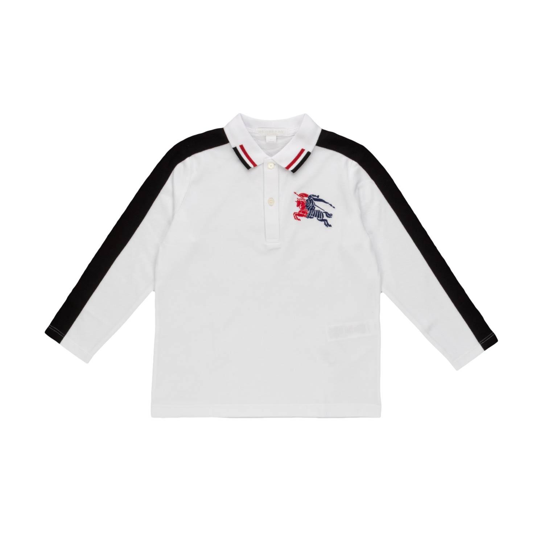 d78858da Burberry - Boy Long-Sleeved Polo Shirt - annameglio.com shop online