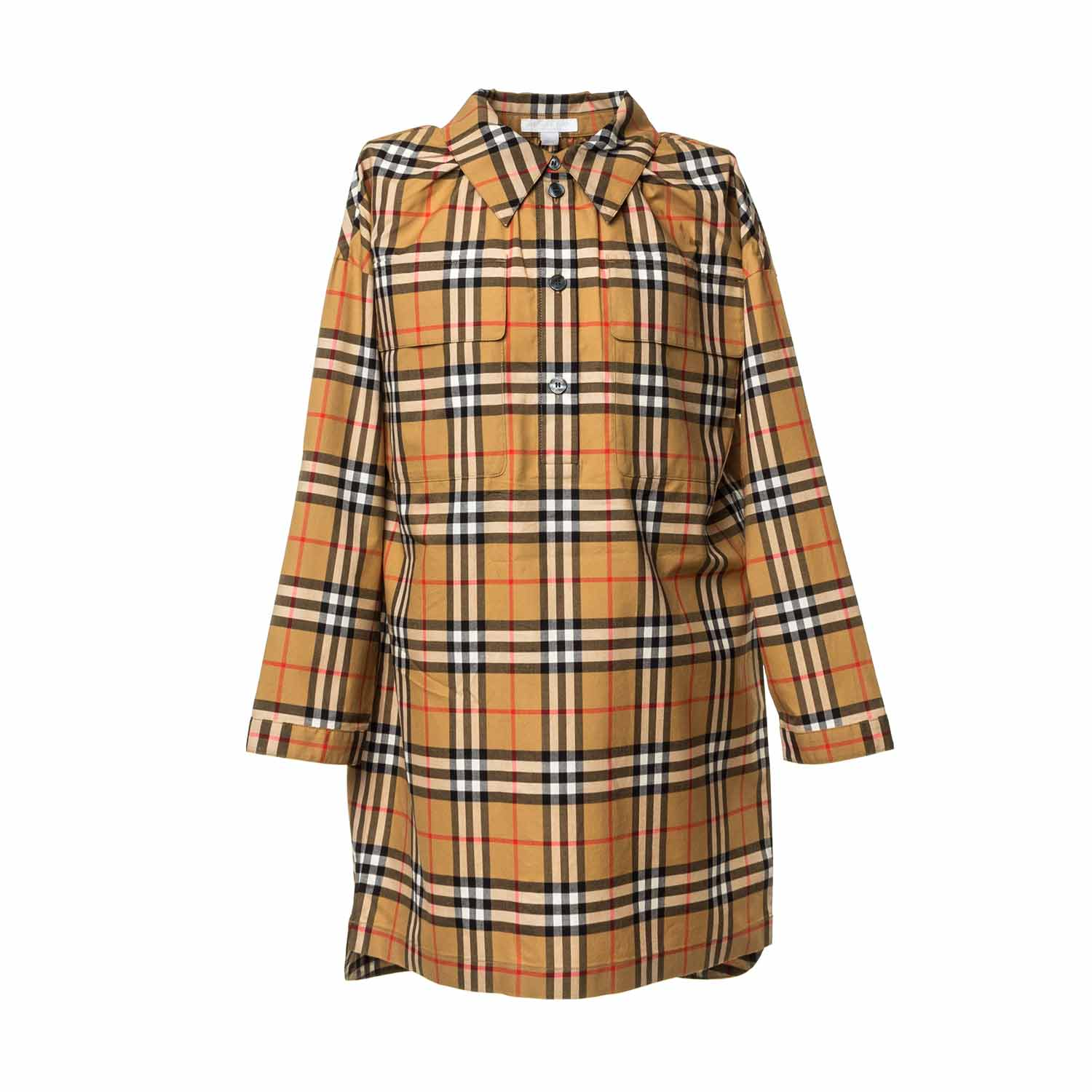 648c5a68729e Burberry - Girl Vintage Check Shirt Dress - annameglio.com shop online