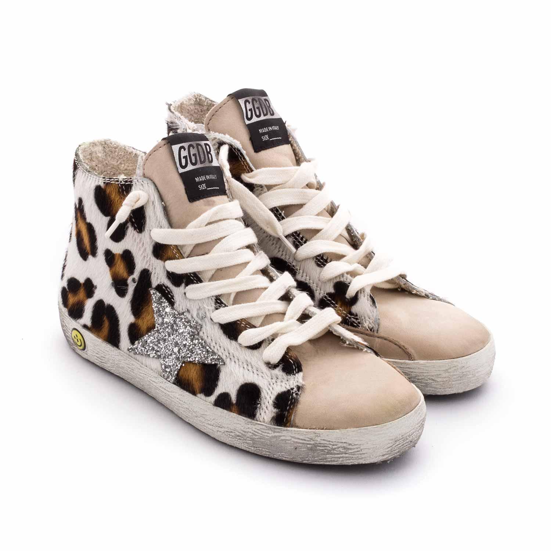 Golden Goose - Leopard Print Sneakers