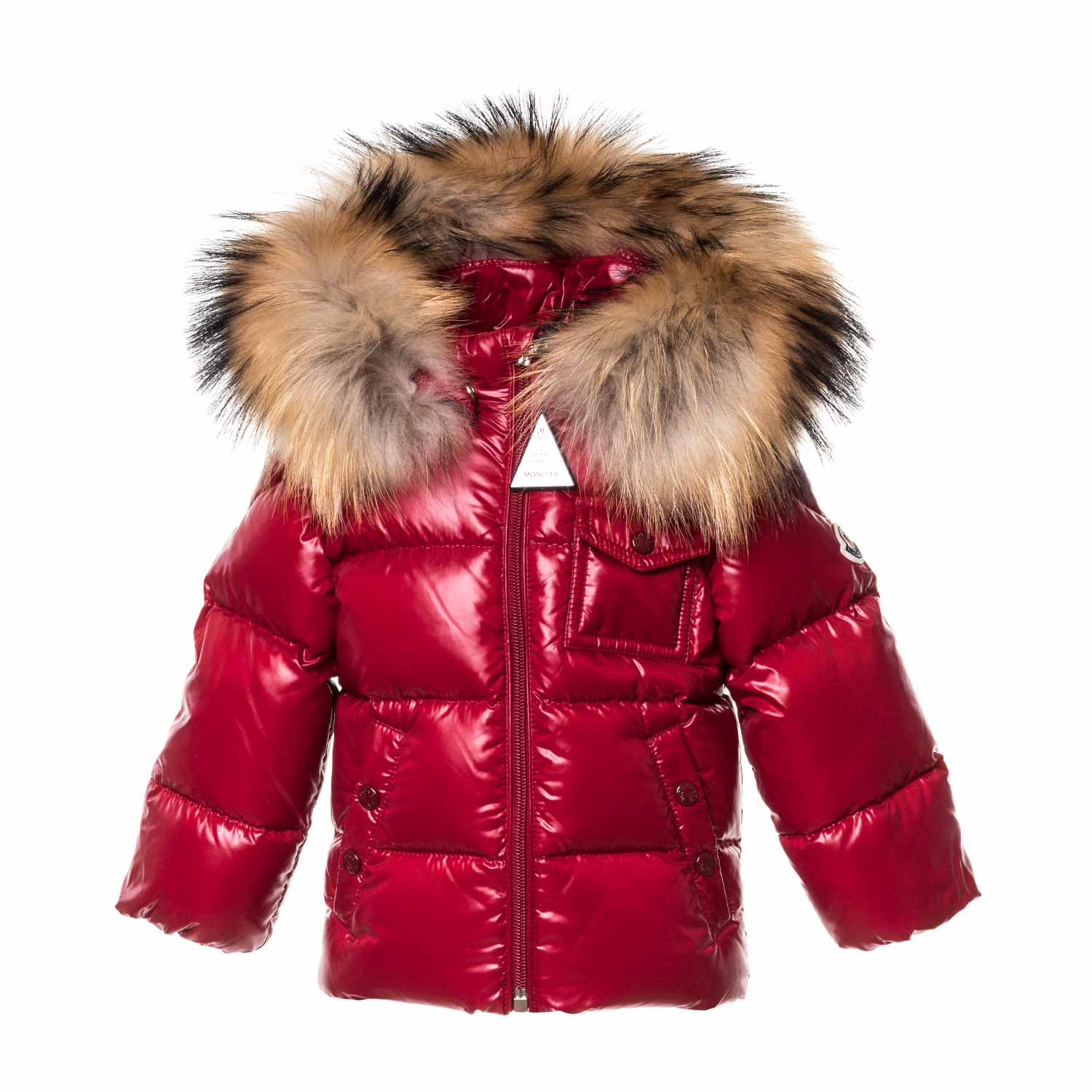 079a3ee2b Moncler - Baby Girl Red K2 Down Coat - annameglio.com shop online