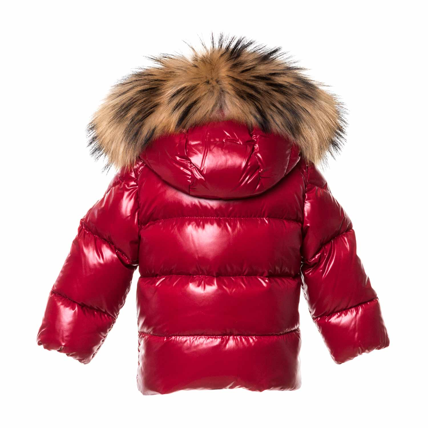 ee3919fab Moncler - Baby Girl Red K2 Down Coat - annameglio.com shop online