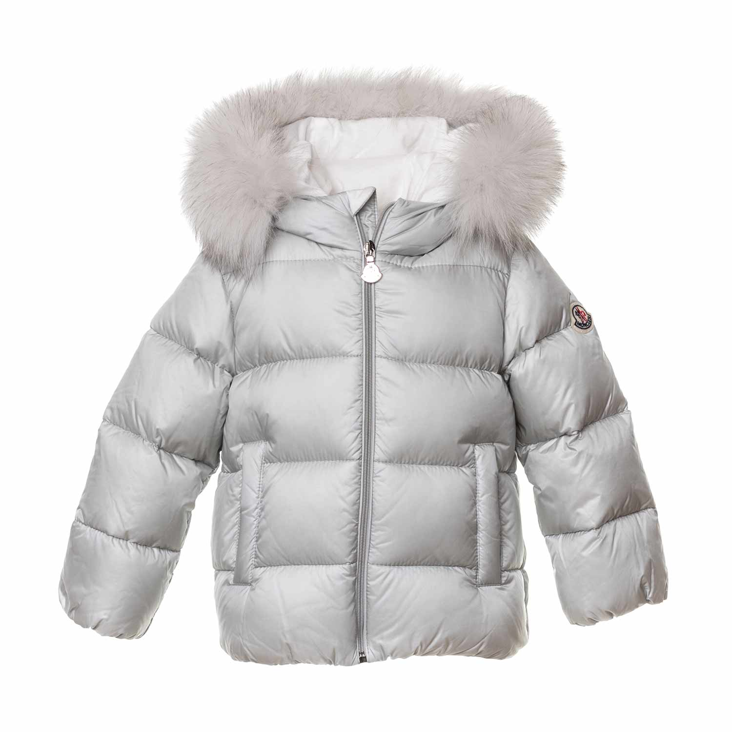 061ec06064 Little Girl White Teiki Coat
