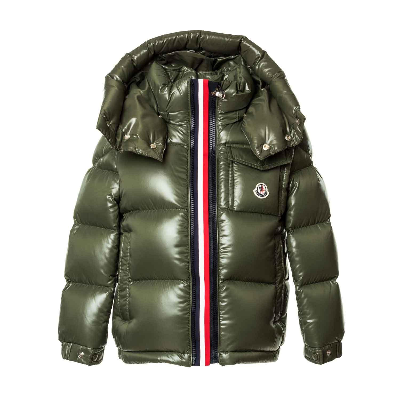 8f89227b9 Moncler - Down Jacket Nylon Montbelliard - annameglio.com shop online