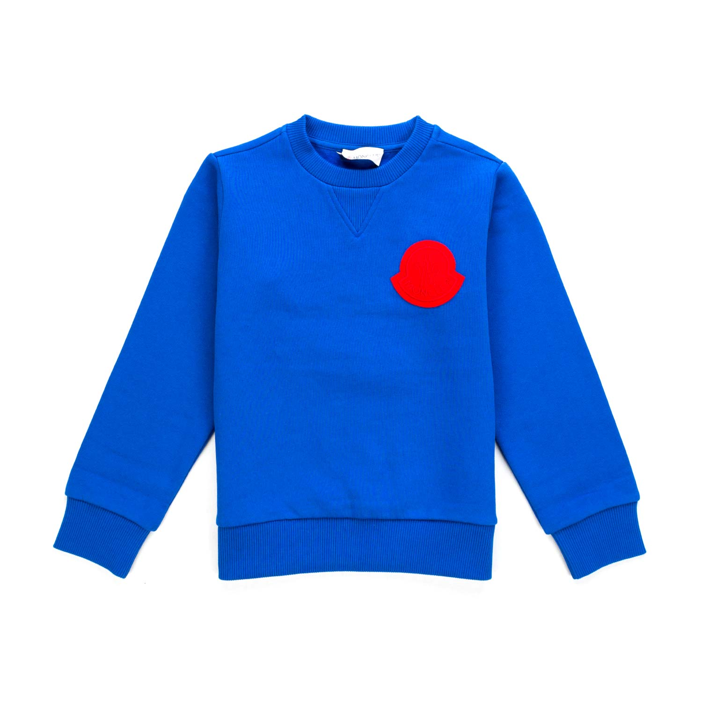 timeless design ceb10 24b4b Felpa Blu Elettrico Bambino Teen