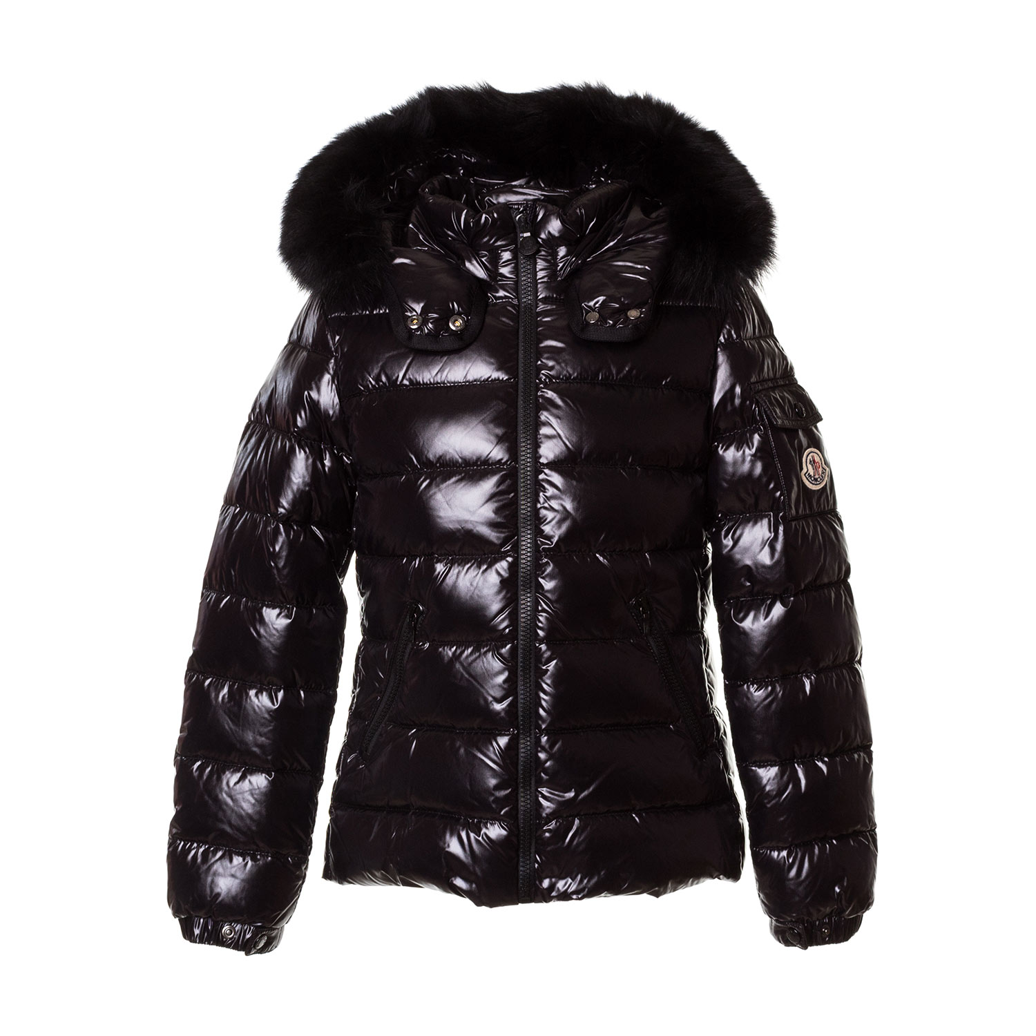 new product d2317 a36ae Girl Black Padded Coat