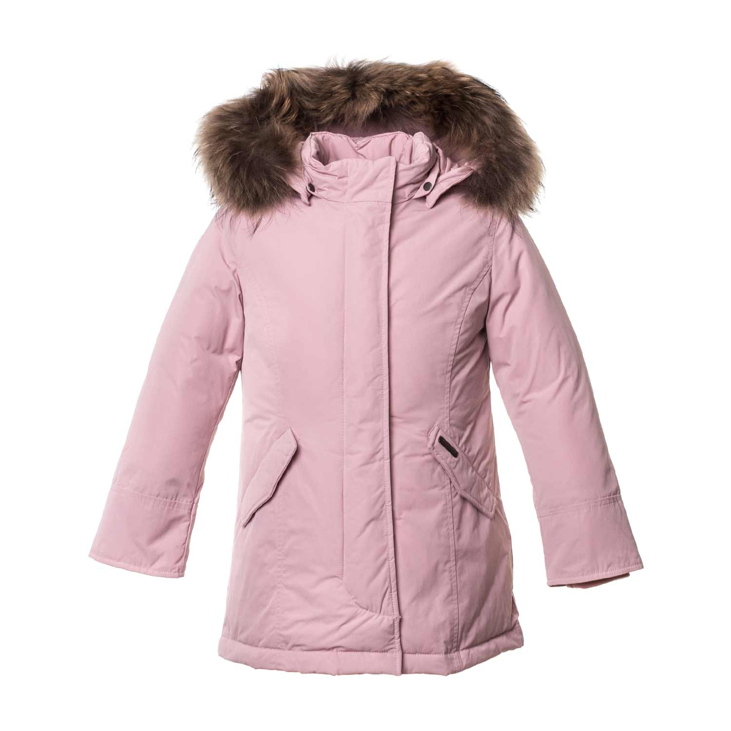 ea74c59b3 Woolrich - Pink Artic Parka For Girls - annameglio.com shop online